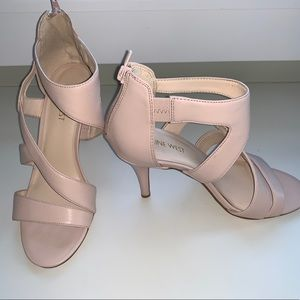 Nine West strapping heel